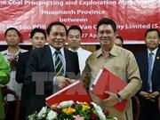 越南与老挝签署煤炭资源勘查与开发合作合同