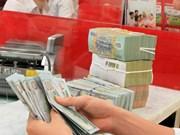越南国家银行越盾兑美元中心汇率较前一日下跌30越盾
