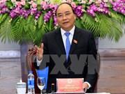 越南政府总理阮春福离开河内启程对俄罗斯进行正式访问