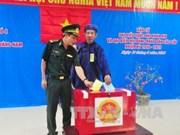 新一届国会和各级人民议会代表选举:广南省49个选区举行提前投票