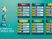 2016年世界五人制足球锦标赛决赛阶段分组抽签结果揭晓