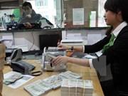 越南国家银行越盾兑美元中心汇率较前一日上涨7越盾