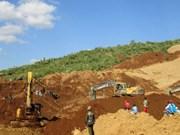 缅甸北部发生山体滑坡约有百人被埋