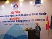 "EVFTA成为越南与欧盟贸易与投资关系的""助推剂"""