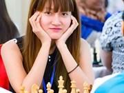 国象亚洲个人第七轮:越南棋手武金凤击败中国棋手郭琦