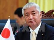 日本防卫相访问缅甸