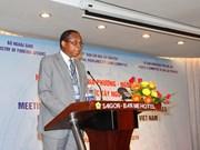越南西原地区各地方与越南外交使团举行见面会