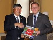 越南同德国各地加强合作