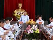越南政府总理阮春福赴永隆省调研