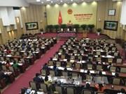 阮氏碧玉和阮德钟继续当选河内市人民议会主席及人民委员会主席