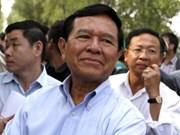 柬埔寨法院判处三名救国党党员每人7年监禁