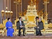 越南与柬埔寨发表联合声明