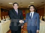 越南与泰国进一步加强多方面合作