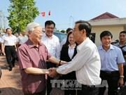 越共中央总书记阮富仲莅临巴地-头顿省调研
