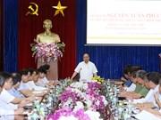 越南政府总理阮春福同西原地区指导委员会举行座谈