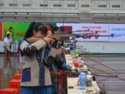 2016年国家青少年气枪锦标赛在得乐省开幕