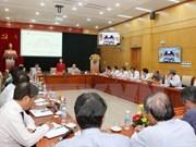 越共中央民运部部长张氏梅会见越南新任驻外大使和首席代表