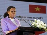 越南与南非促进贸易投资合作