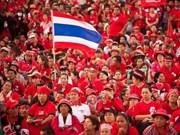 泰国红衫军要求对政府关闭公投监督中心一事进行调查