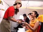 2016年暑期越捷航空公司增加近6000个航班