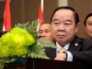 泰国与缅甸加强合作关系