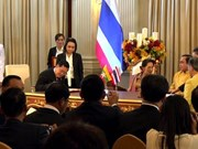 泰国与缅甸一致同意将双向贸易金额增加一倍