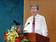 越共中央书记处常务书记丁世兄:集中做好参谋 提高工作效率和反腐败的质量