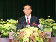 陈大光主席出席西贡-嘉定市正式命名为胡志明市40周年纪念活动