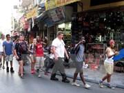 赴越南河内市旅游的外国游客量猛增