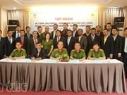 越南为柬埔寨禁毒力量进行培训