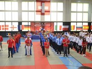 第四次欧洲越武道锦标赛:德国夺得冠军