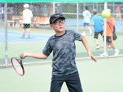 2016年越南全国青少年网球冠军杯开赛
