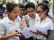 越南2016年国家高中毕业和大学入学统一考试圆满结束