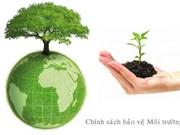 成立TPP、EVFTA有关自然资源和环境的各项承诺履行工作组
