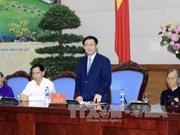 王廷惠副总理会见南定省革命有功者代表团