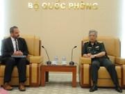 越南国防部领导会见美国国防部副助理部长