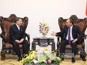 阮春福总理会见泰国TCC集团主席苏旭明