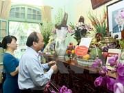 越南政府总理阮春福敬香缅怀已故总书记黎笋