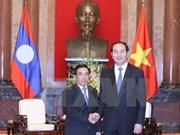 越南国家主席陈大光会见老挝客人