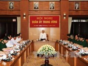 越共中央军委通过贯彻落实越共十二大决议行动计划