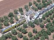 意大利南部火车相撞:尚未收到有越南公民遇难的消息