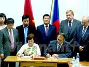 越捷政府间联合委员会第五次会议在捷克举行