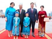 越南政府总理阮春福访问蒙古期间的系列活动(组图)