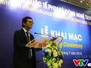 2016年越南电影与电视科技国际展览会13日开幕