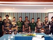 印度年轻军官代表团在越南举行系列交流活动