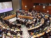 国家副主席邓氏玉盛出席联合国经济及社会理事会高级别会议