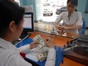 越南国家银行越盾兑美元中心汇率较前一日下跌14越盾
