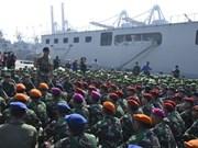 印尼同马来西亚进行联合军演