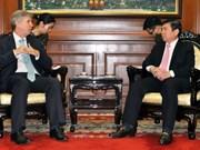 英国愿与胡志明市加强在基础设施领域的合作