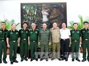 越南与古巴进行国防政策对话